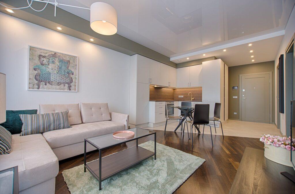 зонування світла у різних частинах квартири