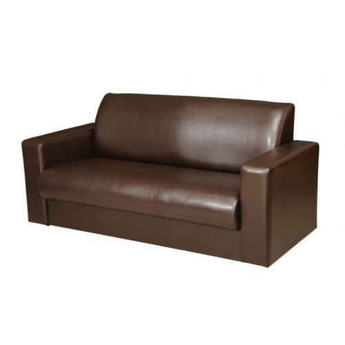 кожаный диван, диван из коричневой кожи, шоколадный диван, гладкая кожа, мебель из кожи, эко-кожа