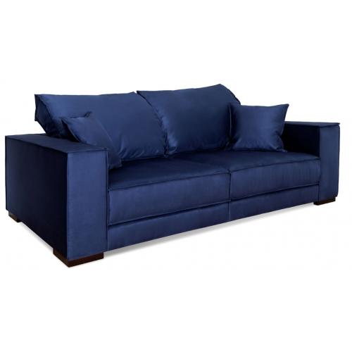 как вибрато диван, синий диван, диван двухместный