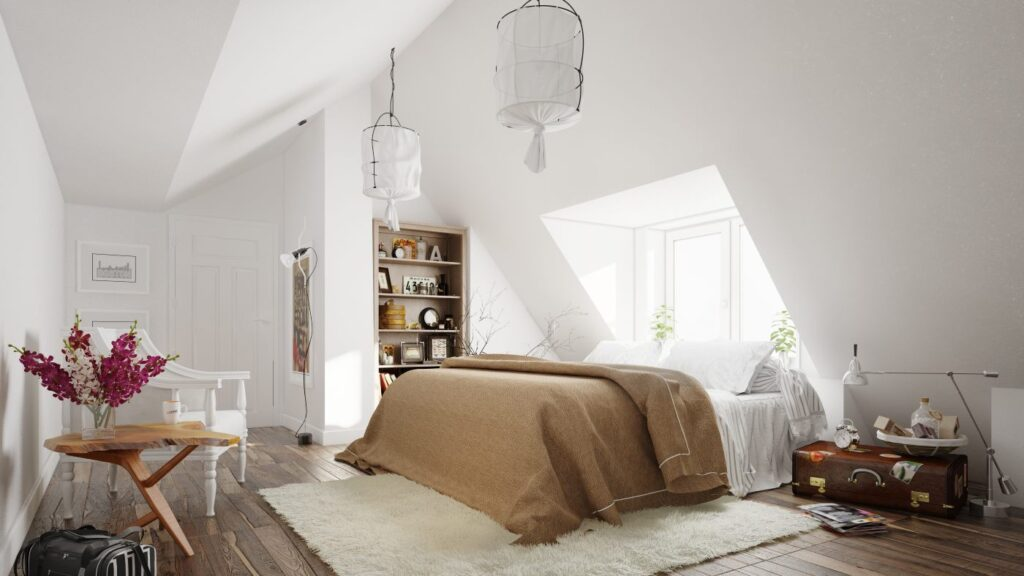 ремонт спальни, идеи для интерьера спальни, маленькая спальня